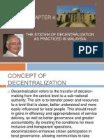 Chapter 4 Decentralization