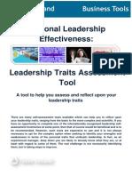 Leadership Traits Assessment Tool