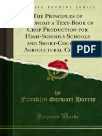 The Principles of Agronomy a Text-Book of Crop Production for 1000074322