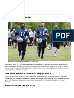 Detroit Lions 2014 NFL Training Camp Report _ the MMQB With Peter King