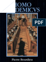 Pierre Bourdieu Homo Academicus 1990