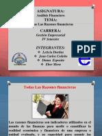Analis Financiero-Todas Las Razones Financieras