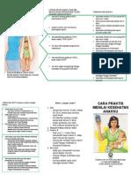 Leaflet Cara Praktis Menilai Kesehatan Anak
