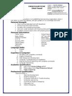 Resume(New)