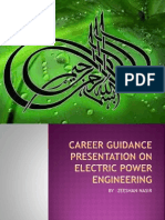 Career Guidance Presentation on Electric Power Engineering