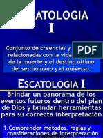 Curso Escatología I