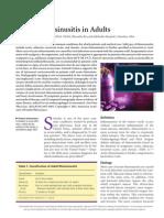 -Acute Rhinosinusitis in Adult Journal