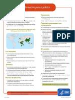 Chikungunya Información para el público