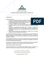Afidro Nuestro_Codigo_de_etica Para La Promocion de Medicamentos