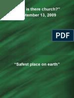 September 13, 2009 Sermon Power Point