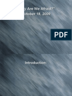 2009-10-18-Sermon Pwr Pnt