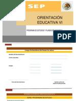 Programa Orientación Educativa VI