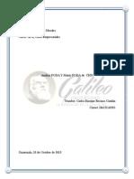 Analisis, Matriz FODA de CHN