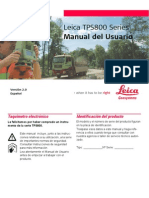 TPS800 UserManual Es