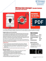 MicroESystems Mercury3000Si Dual Axis Averager DataSheet