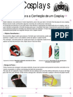 Tutorial - Cosplay - Estrutura