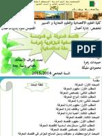 اقتصاد المعرفة في المؤسسة الاقتصادية الجزائرية (دراسة حالة استقصائية)