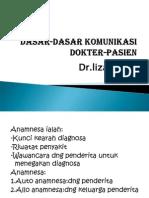 Dasar Dasar Komunikasi Dokter Pasien