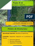 Toponimia Mapuche Williche - Salvador Rumian C.