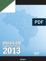 Vol01 Livro Brasil Desenvolvimento2013