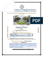 DM M.ch . Fellowship Ph.D.prospectus 2014 ORIGINAL Updated Jipmer