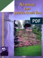 Noi Mărturii Despre Parintele Arsenie Boca