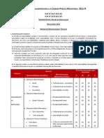 Matriz Prueba Especialidad Icpm20112