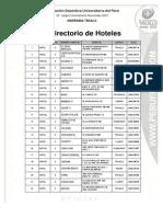 Base de Datos Hoteles