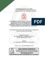 La representación teatral Los Talcigüines como manifestación del sincretismo cultural y su apropiación actual de elementos lingüísticos, literarios, simbólicos e ideológicos en el municipio de Texistepeque, d
