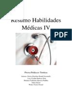 Resumo Habilidades Médicas IV
