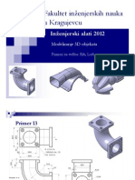 Modeliranje 3D Objekata Uradjeni Primeri III