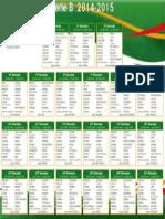 Calendario Serie B 2014/2015
