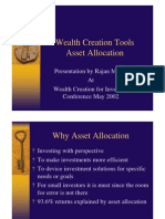 Asset Allocation for Small Investors