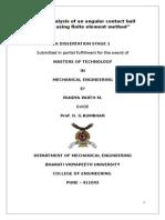 Dissertation Roller Bearing