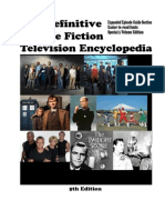 The Definitive Science Fiction Television Encyclopedia - Appendix