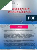 estrógenos y progestÃ_genos