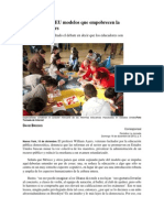 México Copia a EU Modelos Que Empobrecen La Enseñanza