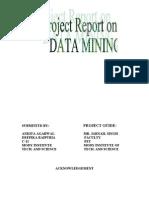 MAIN OF REPORT
