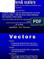 19  vectors and scalars