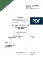 SP-702 Seismic Analysis, Testing & Documentation