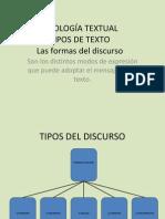 Tipología Textual 2º 3º 1º Bach