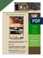 Jamestown Newsletter 15, August 8