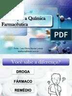 Aula 1 - Introdução a Química Farmacêutica