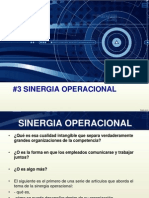 sinergia operacional