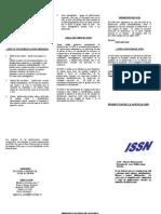 Desplegables-ISSN