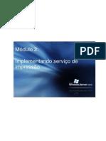 Módulo 2 - Implementando Servicos de Impressao