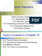 Chapter 10 Network Theorems