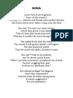 Nina - Lyrics
