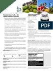 Green Coffee Spec Sheets Pa