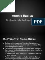 Atomic Radius Presentation